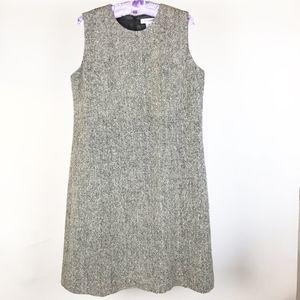 Isaac Mizrahi Dress Size 16 Sleeveless Tweed Women